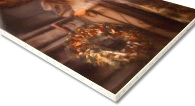 Giclee stretch/staple canvas