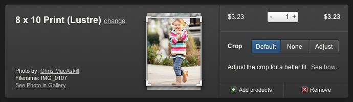 crop photos
